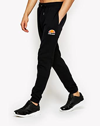fcf3401f Ellesse Men's Ovest Logo Joggers, Black, Medium