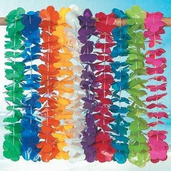 Fun Express Mega Plastic Luau Lei Assortment - 100 Piece Pack