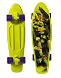 ninja turtles with skateboard - PlayWheels Teenage Mutant Ninja Turtles 21'' Kids Complete Plastic Skateboard
