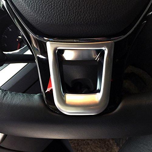 High Flying Int/érieur Plastique ABS mat basse Housse de volant Trim 1/PC pour accessoire Auto Vwtroc