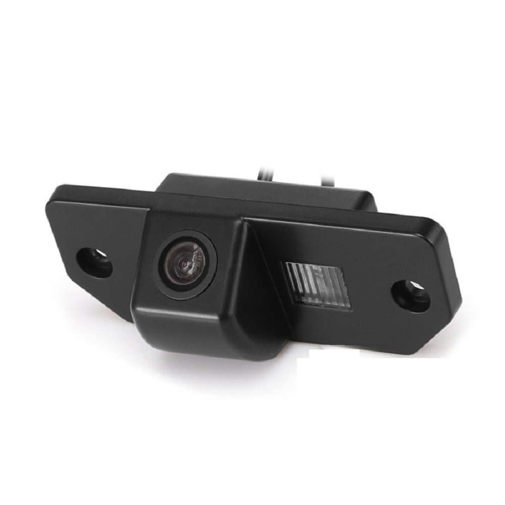 Reversing Vehicle-Specific Camera Integrated in Number Plate Light License Rear View Backup camera for Focus 3 QINGTIAN 3C sedan Mondeo 2007-2009 2000-2007 C-Max