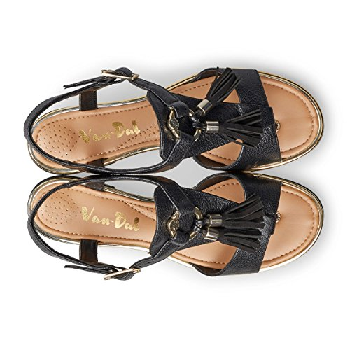 Van Dal Women's Malin Sandals Black 6jLfwK