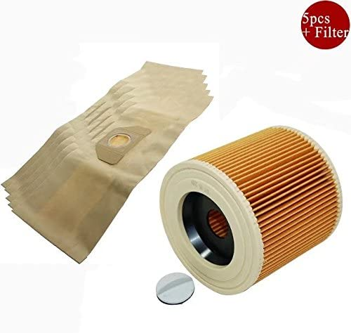 Kit de filtro de vacío bolsa de polvo para aspiradora Karcher ...