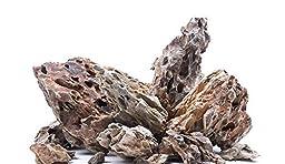 5 lbs. Ohko Dragon Stone Rock Mixed Sizes by SevenSeaSupply