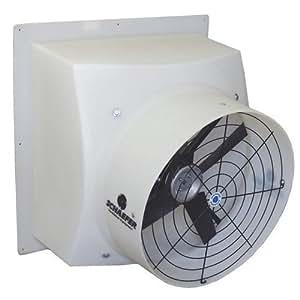 Schaefer Exhaust Fan 12in 1604 Cfm 1 3 Hp 115 230 Volt Model Pfm1200 1 Bathroom Fans