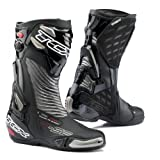 TCX 7616 R-S2 Evo Mens Street Motorcycle Boots - Black/Graphite Size Eu 46 / Us 12
