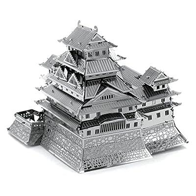 Metal Earth Fascinations Himeji Castle Puzzle In Metallo 3d Giocattoli Da Costruzione Modelli Di Taglio Laser