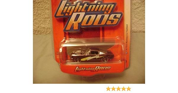 Johnny Lightning  1:64 Lightning Rods #3  /'65 Ford Mustang 2+2 Fastback   NRFB