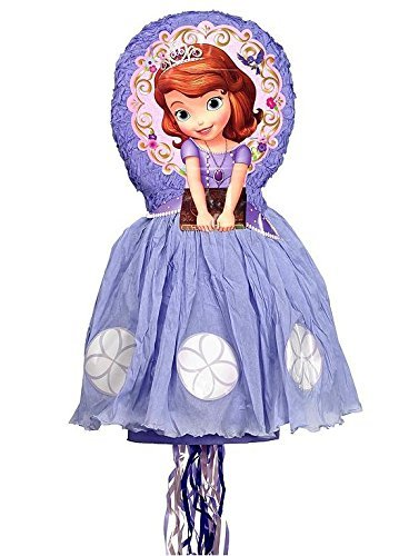 Disney Sofia the First 3d Pull-string Pinata