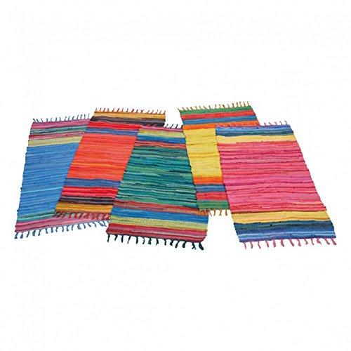 DNP Fleckerlsteppich multicolor