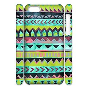 Green Tribal Pattern 3D-Printed ZLB557068 Brand New 3D Phone Case for Iphone 5C