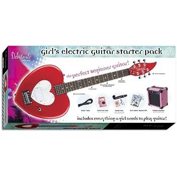 daisy rock debutante heartbreaker short scale electric guitar starter pack red hot. Black Bedroom Furniture Sets. Home Design Ideas