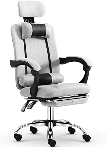 Kumopyu Gaming Chair Computer Chair Home Office Chair Comfortable Ergonomics T Section Aluminum Alloy Foot Amazon Co Uk Kitchen Home