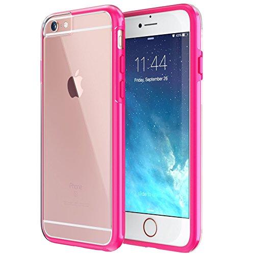 Slim Sleek Shockproof Case for iPhone 6 Plus/6s Plus (Hot Pink) - 5
