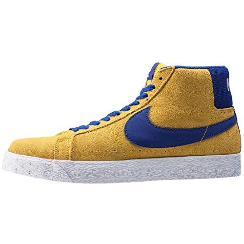 Nike - SB Zoom Blazer Mid - 864349751 - Farbe: Gelb - Größe: 44.0