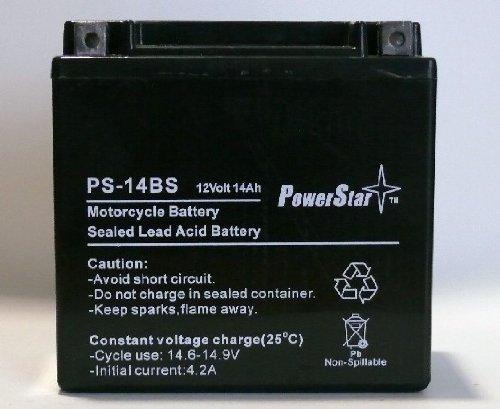 PowerStar YTX14-BS Xtreme Volts AGM Battery