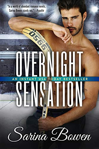 Overnight Sensation: A Hockey Romance (Brooklyn Book 2)