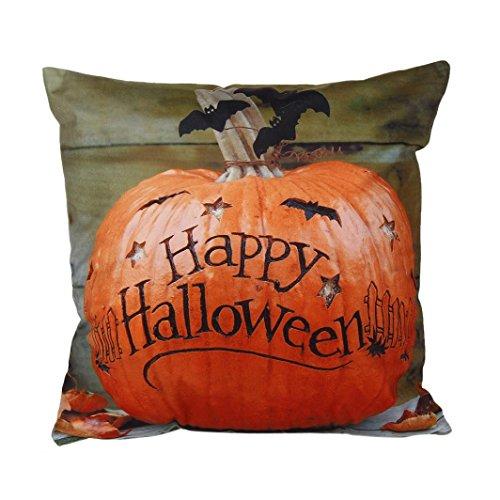 Gotd Halloween Throw Pillow Case Cushion Cover Square 18X18 inch (D) (Ellen D Halloween Costume)