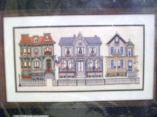 Bucilla Counted Cross Stitch 40035 - Victorian Houses