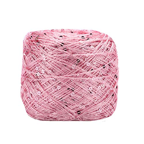 Top sequin yarn pink for 2020