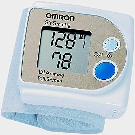 Omron R3 Test de salud y Fitness equipo muñeca corazón tasa/Indicador de la presión arterial: Amazon.es: Deportes y aire libre