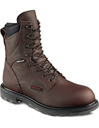 "Red Wing Mens 8"" Waterproof Insulated Leather Boot 1412"