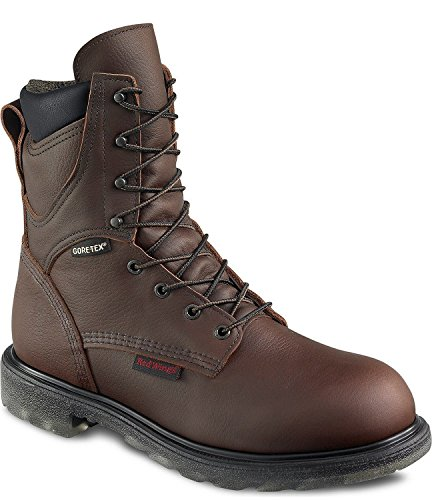"Red Wing Mens 8"" Waterproof Insulated Leather Boot 1412 - 11.5E"