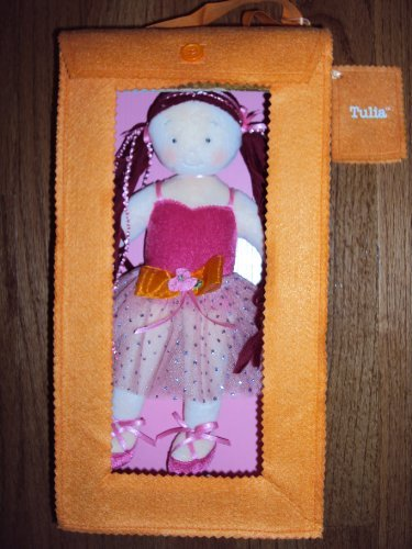 Tulia Pink Tutu in Orange Gift - Toddler Doll North Bear American