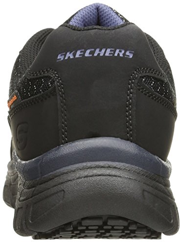 Skechers for Work Chaussure de travail Homme Conroe Dierks, Noir