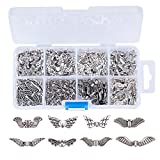 Kissitty Assorted 8 Styles Antique Silver Plated Alloy Review and Comparison