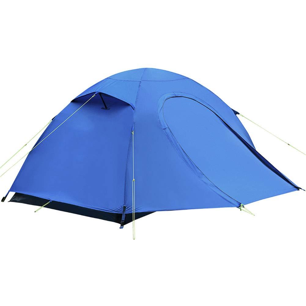 Zelt, Outdoor 2 People Camping Zelte Klettern Wandern Windproof Rainproof Beach Ultralight Zelt (210  250  110cm)