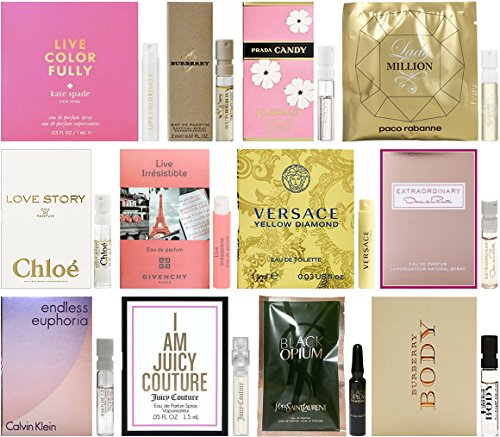 Lot of 12 Vial Samples - Women's Fragrance - Stock Versace