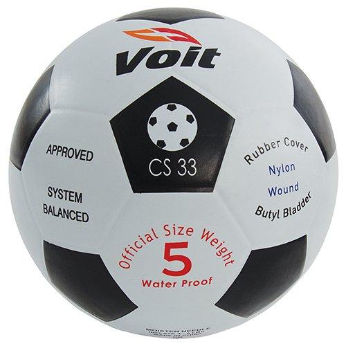 Voit Rubber Soccer Ball, Size 3 -