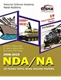NDA/ NA 10 years Topicwise Solved Papers (2006-2015) 3rd Edition