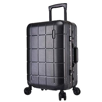 Equipaje de viaje duro Shell Maletín de aluminio Portaobjetos de viaje Portaequipajes Maletas con equipaje TSA