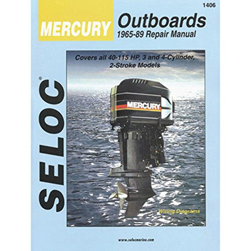 Mercury Outboards, 3-4 Cylinders, 1965-1989 (Seloc Marine Tune-Up and Repair ()
