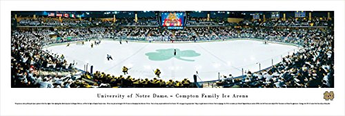 Notre Dame Hockey - Blakeway Panoramas Unframed College Sports - Notre Dame Today Game