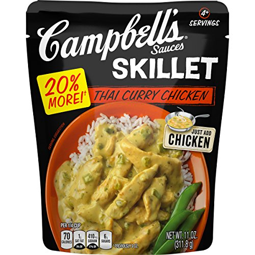 Campbell's Skillet Sauces, Thai Curry Chicken, 11 Ounce