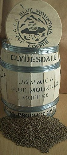 Blue Gourmet Coffee Mountain - 5 lbs of 100% Certified Jamaica Blue Mountain Coffee (Full City Roast)