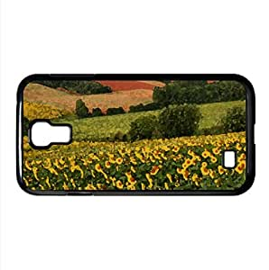 Fields Watercolor style Cover Samsung Galaxy S4 I9500 Case (Landscape Watercolor style Cover Samsung Galaxy S4 I9500 Case)