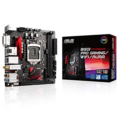 ASUS Mini ITX DDR4 LGA 1151 B150I PRO GAMING/WIFI/AURA Motherboard