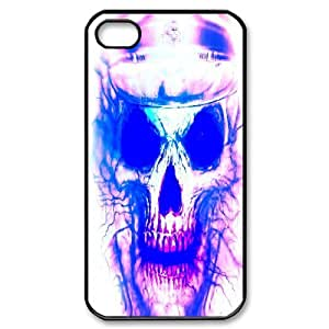 C-Y-F-CASE DIY Horror Skull Pattern Phone Case For Iphone 4/4s wangjiang maoyi
