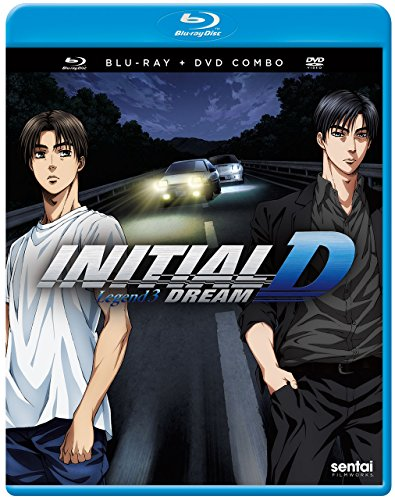 Blu-ray : Initial D Legend 3: Dream (With DVD, Subtitled, Anamorphic, 2PC)