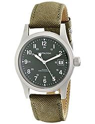 Hamilton Men's HML-H69419363 Khaki Field Green Dial Watch