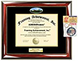 Diploma Frame Utah State University Graduation Gift Idea USU Engraved Picture Frames Engraving Degree Certificate Holder Graduate Him Her Nursing Business Engineering Education School