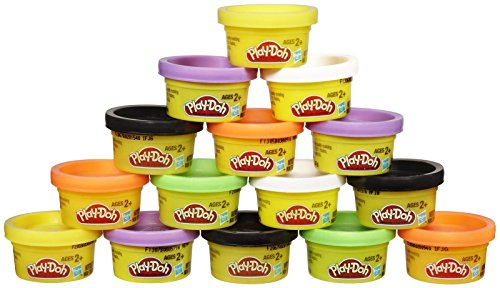 Play-Doh, Treat-Without-the-Sweet, Halloween Bag, 15 1-ounce Cans ()