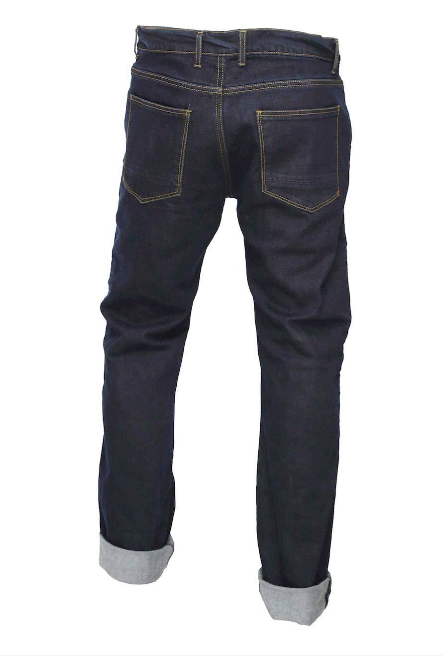 GREAT BIKERS GEAR Pantalon de moto pour homme avec doublure renforc/ée et doublure de protection incluse