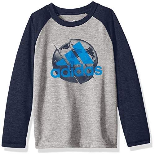 Adidas Boys Basic Long Sleeve Tee Shirt