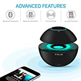 Portable Bluetooth Speaker - Semi Leviation Style - 7 Color Breathing Light