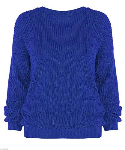 FASHIONCHIC - Jerséi - para mujer azul real